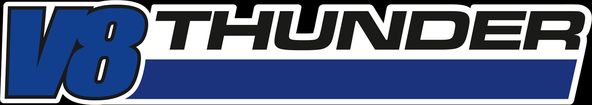 V8 Thunder logo
